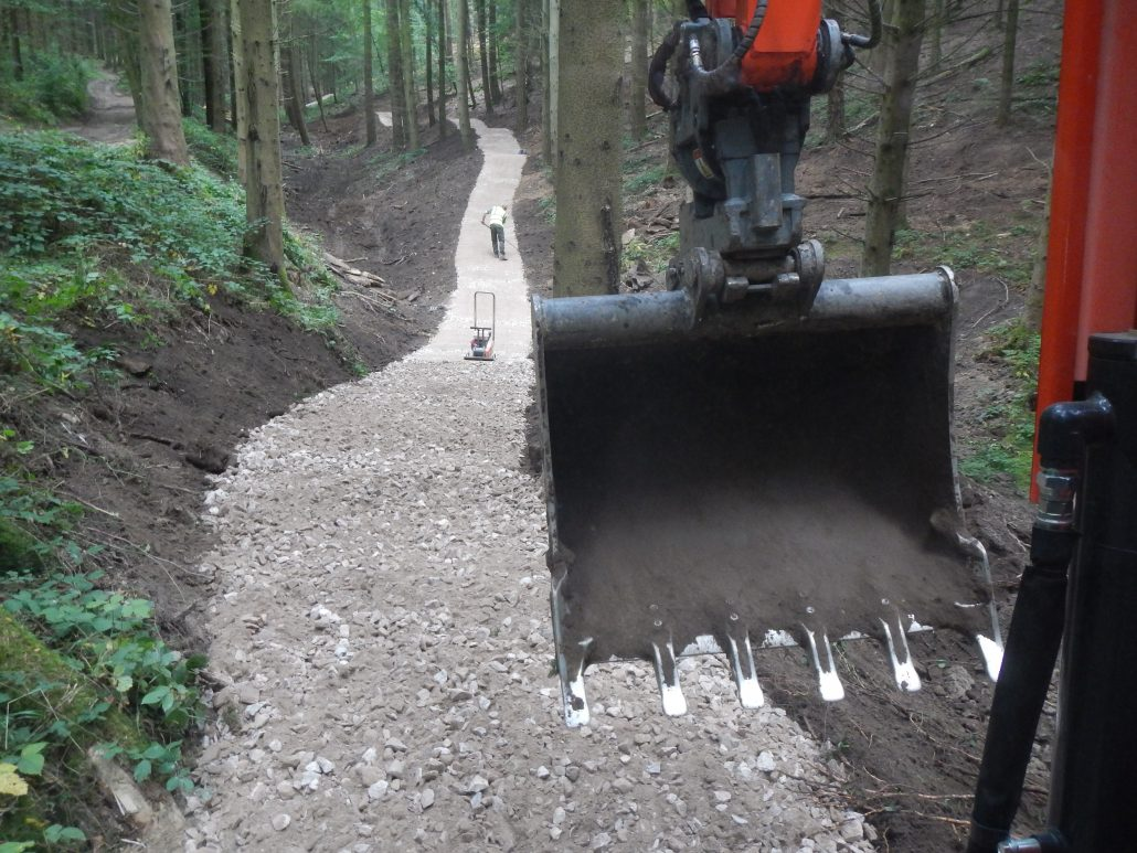 Specialist Mountain Bike Trail Construction Contractor