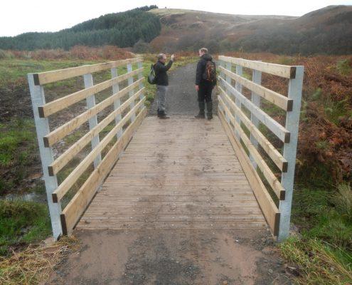Multi-user trail construction contractor