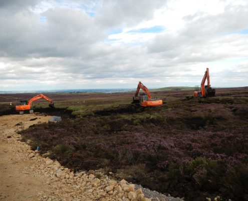 Peatland Civil Engineering Contractor