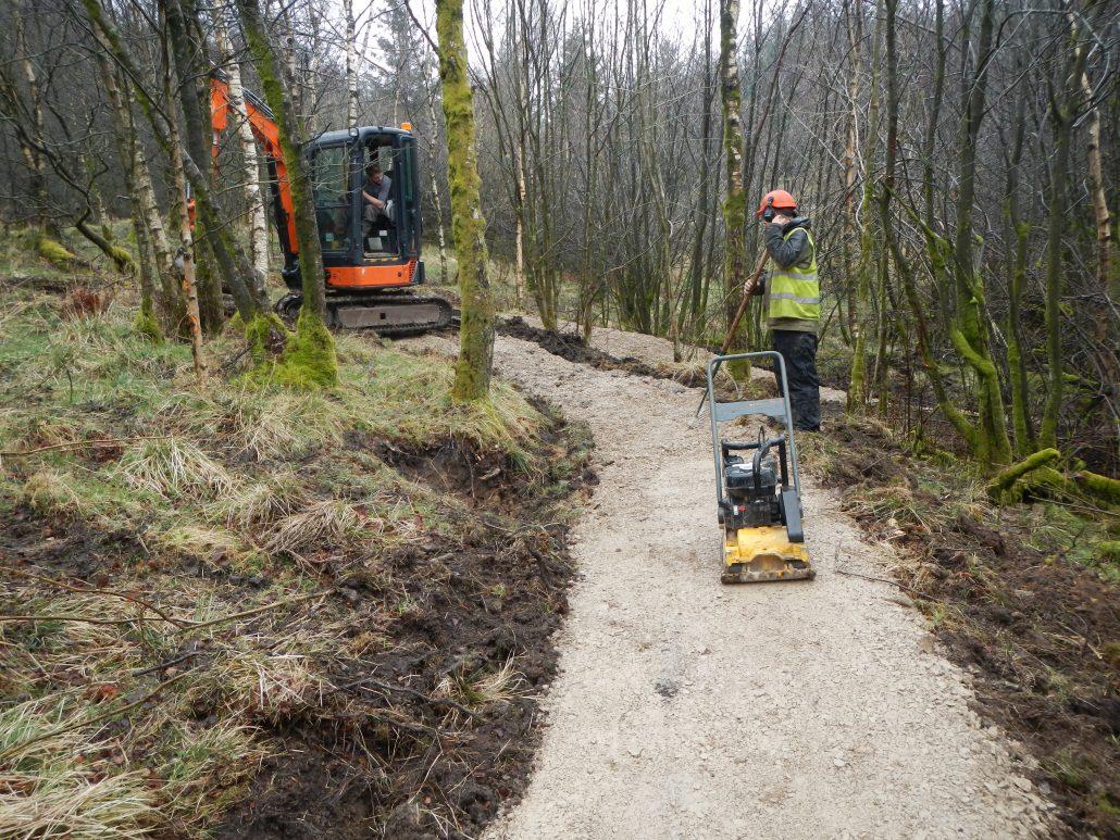 Mountain Bike Trail Maintenance Contractor Gisburn