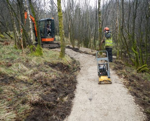 Mountain Bike Trail Maintenance Contractor