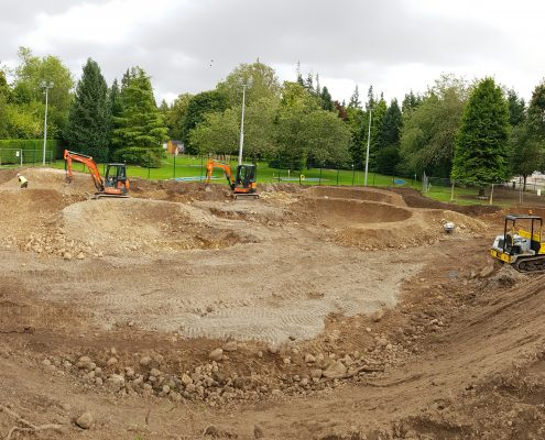 Tarmac Pump Track construction contractor