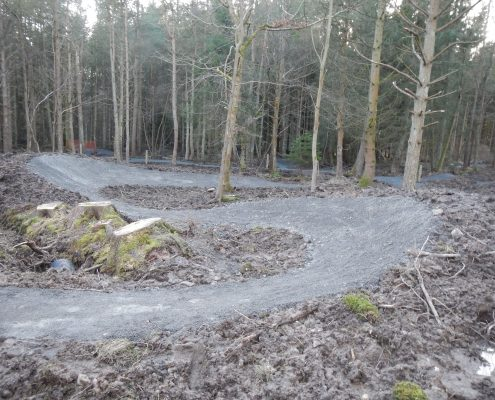 MTB Skills Trail Construction