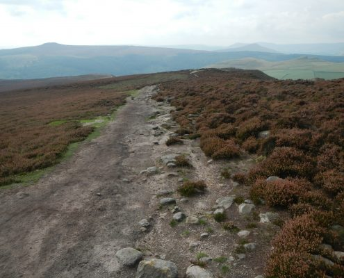 Winstone Lee Tor – Upland Footpath Construction