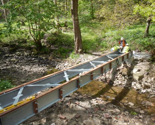 Footbridge Construction Contractor