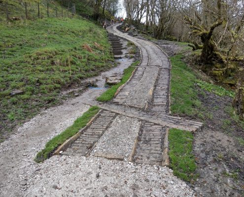Bridleway maintenance contractor