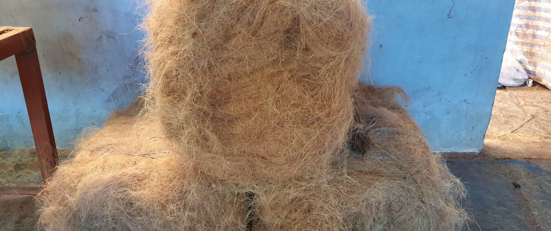 Coir Bales - Filling for Coir Logs